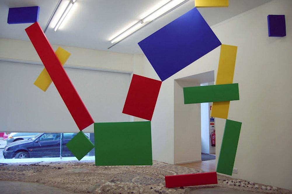 Farbenlehre anna mields alex gross collective gallery edinburgh