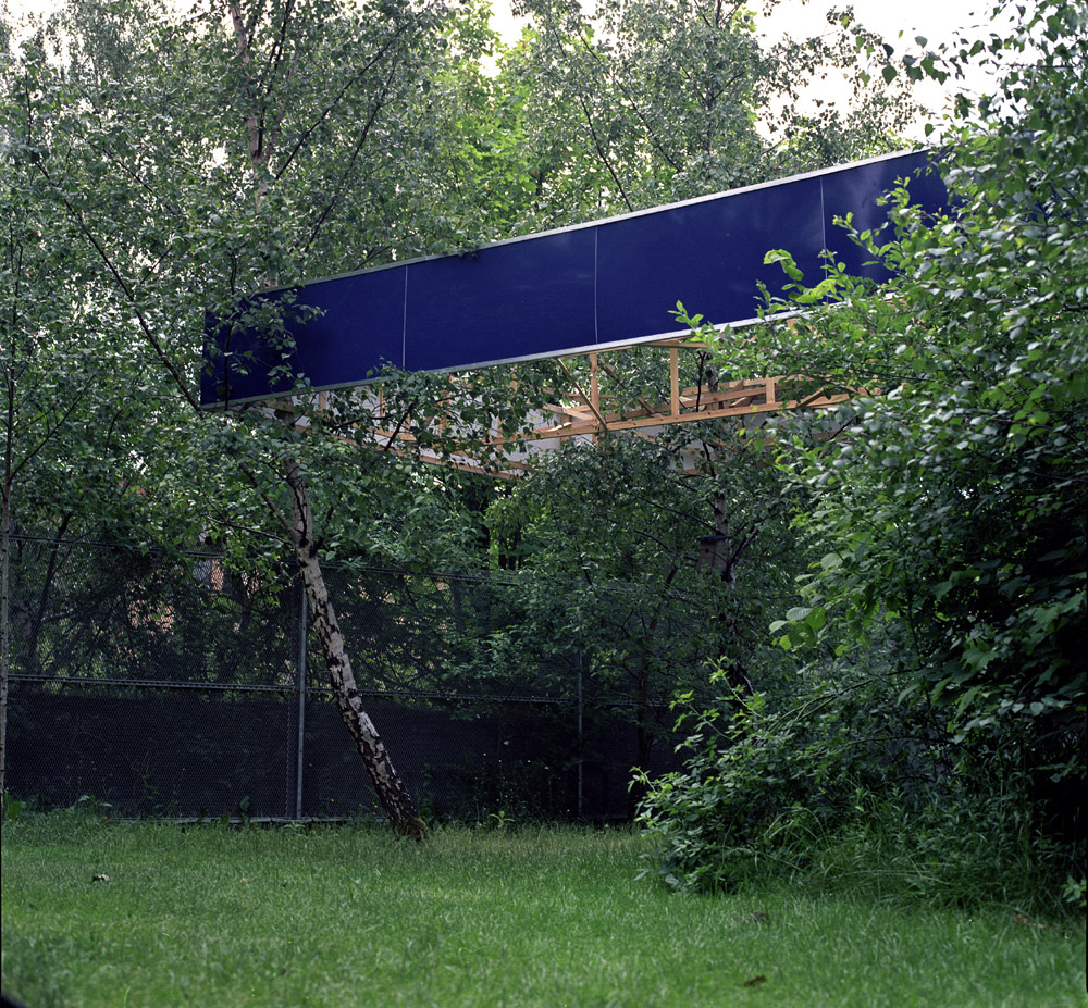 Gas Station Tramway hidden gardens alex gross glasgow